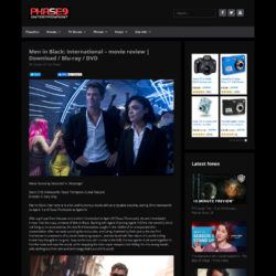 Image of Men in Black: International review on the Phase9.tv website